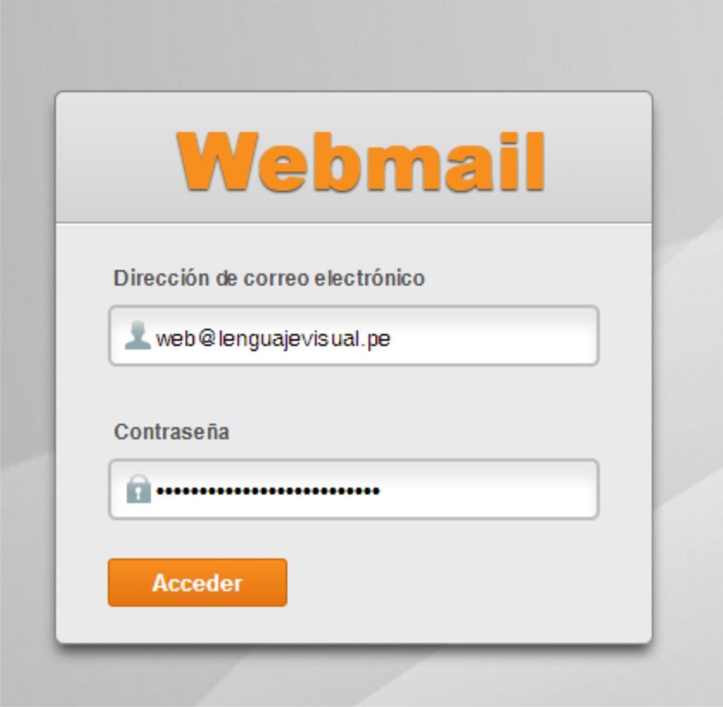 webmail-lenguaje-visual